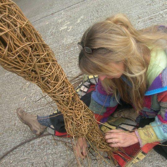Sara sculpting