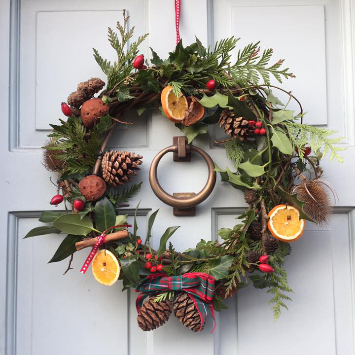 Christmas Wreath.Christmas Wreaths Saturday 30th November Pirbright Afternoon Session